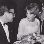 ca.1970 with Ross Hunter at the Plaza Hotel
