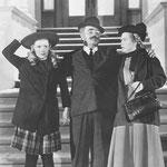 with Barbara Bel Geddes and Oscar Homolka