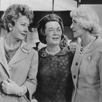 July 11, 1964 with Mrs. Barry Goldwater and Mrs. Clare Boothe Luce