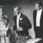 04.06.1959 - Academy Awards with David Niven and John Wayne