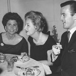 1964 with Tina Sinatra and Robert Goulet, unknown event