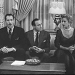 with Vincent Price and Jack Benny