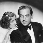 publicity for 'Theodora Goes Wild' with Melvyn Douglas