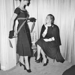 08.31.1951 at couturier Dior's studio