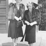 April 9th 1939 with her aunt Alice Henry (Thank you to Christina)