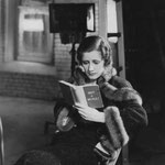 reading on the set of 'Back Street'