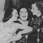 Girls talk - with Loretta Young and Louella Parsons