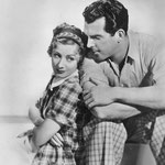 publicity with Fred MacMurray