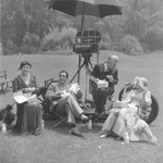 lunch break with Maude Turner Gordon, John Boles and director John Stahl