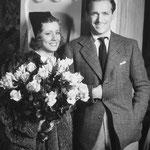 "publicity for ""Joy Of Living"" with Douglas Fairbanks Jr."