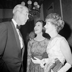 August 30, 1962 - with friends James Stewart and Loretta Young at the party given by Sam Goldwyn