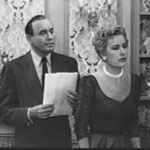 1953 - with Jack Benny