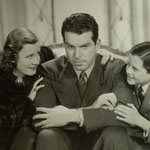 with Fred MacMurray and Billie Cook