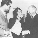 """06.13.1938 - radio production of """"Theodora Goes Wild"""" with Cary Grant and Cecil B. DeMille"""