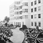 04.15.1951 at the opening of a new wing of the St. John's Hospital