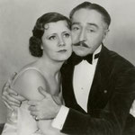 publicity for 'The Great Lover' with Adolphe Menjou
