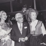 1977 April - tribute to Mervyn Leroy, Beverly Hilton Hotel with Loretta Young