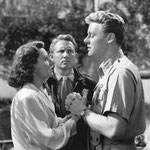 with Van Johnson