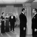 with Norma Drury Boleslawski, Eugene Pallette, Preston Foster and Robert Montgomery