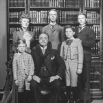 publicity - Life With Father picturing the whole film family