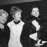 1969 with Helen Hayes and Rosalind Russell, Helen Keller tribute at the University of Southern California