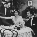 with Adolphe Menjou and Neil Hamilton