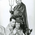 publicity for 'Over 21' with Alexander Knox and Charles Coburn