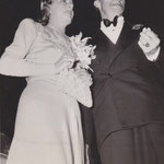 "05.02.1940 with Randolph Scott at the world premiere of ""My Favorite Wife"" in Louisville"