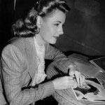 1941 - signing photos (obviously a publicity from 'Unfinished Business')
