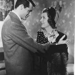 with Cary Grant