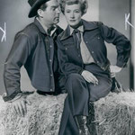 publicity -with Fred MacMurray