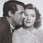 with for 'Penny Serenade' with Cary Grant