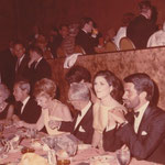 1966,June 18 at the Beverly Hill Hilton with July Styne, Lynda Bird Johnson and George Hamilton
