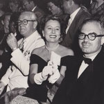 with Frank at a circus benefit performance (two seats left from Frank, that´s Bette Davis)