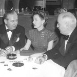 with Frank and unknown companion at the Stork Club