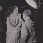 1933 - getting a make-up treatment by Max Factor