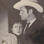 publicity for 'Cimarron' with Richard Dix