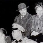 1941 - with Charles Boyer at the China relief festival