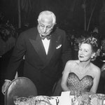 03.01.1948 - at a testimonial dinner for Louella Parsons with Louis B. Mayer