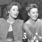 ca.1943 with Greer Garson at an unknown event