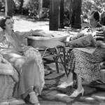 with Edna May Olivier