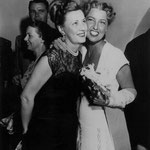 08.17.1948 with Jeanette MacDonald backstage at the Hollywood Bowl where Jeanette had just given a concert (Thanks to Paul Brogan for the info)