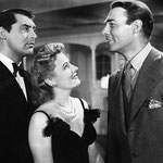 with Cary Grant and Randolph Scott