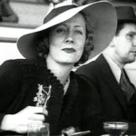 ca.1940 at the races in Inglewood