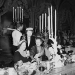 10.31.1951 at an Opera Guild of Southern California luncheon at the Biltmore Hotel