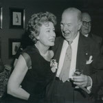 ca.1964 with Charles Coburn
