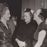 1951 - party in Irene's honor at the Stork Club, NYC, with Gene Tierney and Dorothy Mackaill