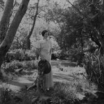 ca. 1935 with dog
