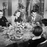 with Ann Shoemaker, Cary Grant, Mary Lou Harrington and Scotty Beckett
