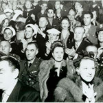 1942 at The Hollywood Canteen with Frank directly sitting behind Irene